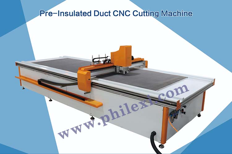 Pre-Insulated Duct CNC Cutting Machine-1-750-500